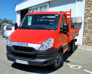 Véhicules Occasions IVECO Daily 35C11 benne aluminium