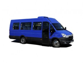 Iveco Daily mini bus - Chabas Nîmes Milhaud (Gard 30)