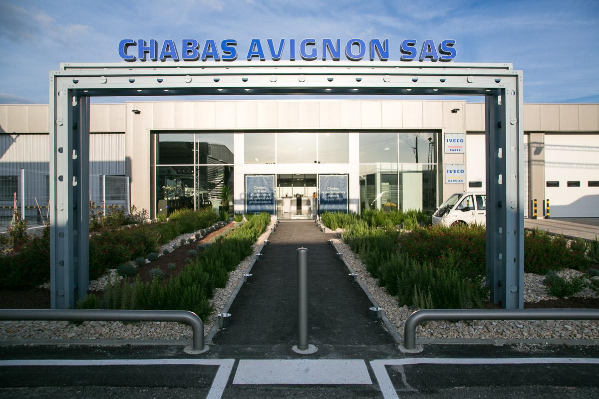 Camion Iveco par Chabas à Avignon le Pontet - Accueil