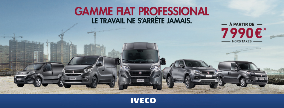 Chabas v hicules iveco fiat pro utilitaires for Garage ford avignon cap sud
